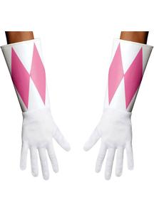Pink Ranger Adult Gloves