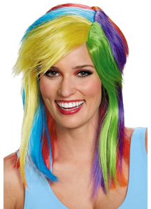 Rainbow Dash Adult Wig