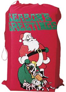 Santas Toy Bag