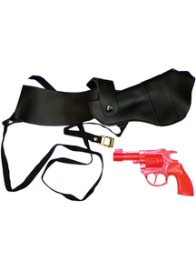 Shoulder Holster With Gun