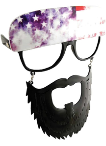 Sunstache Blk Beard Cl