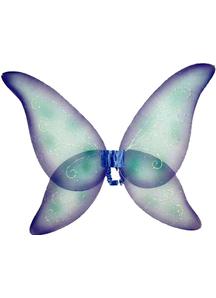 Wings Fairy Prpl Blu Grn