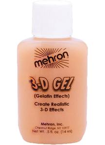 3-D Gel Flesh Gelatin Effects