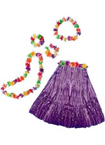 Aloha Set Adult Purple