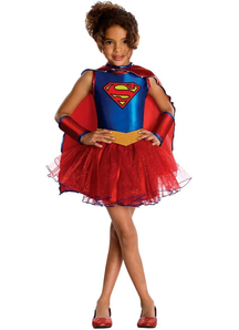 Amazing Supergirl Child Costume