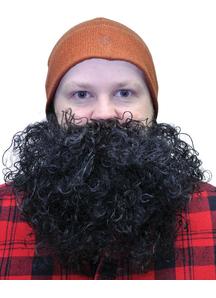 Beard Big And Curly Black