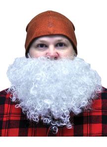 Beard Big And Curly White