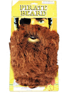 Beard Pirate Brown