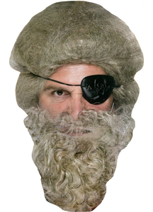 Beard Pirate Grey - 16532
