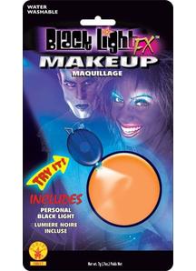 Blacklight Makeup Orange Glow