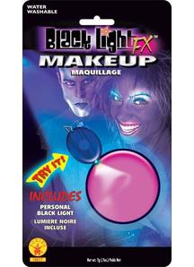 Blacklight Makeup Pink Glow
