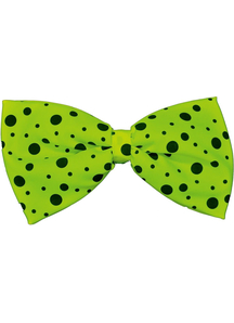 Bow Tie Jumbo Neon Lime Green