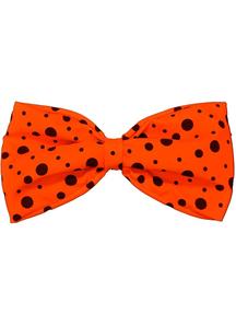 Bow Tie Jumbo Neon Orange