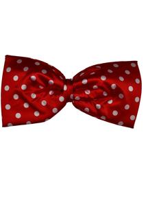 Bow Tie Jumbo Polkadot Red