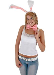 Bunny Ears Bow Tail Set Wt