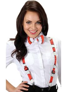 Cih Striped Suspenders
