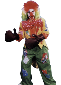Clown Boxing Glove Set 4 Glves