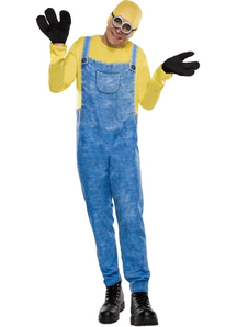 Despicable Me Minion Bob Adult Costume
