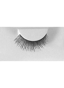 Eyelashes Black With Adhesive 1