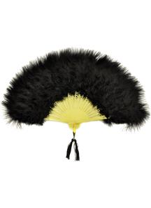 Fan Marabou Feather Black