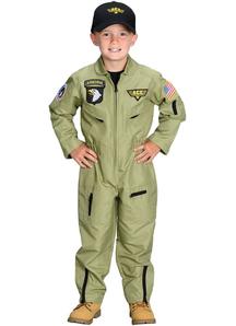 Fighter Pilot Child Costume
