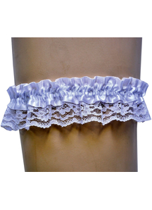 Garter Lace Black Single