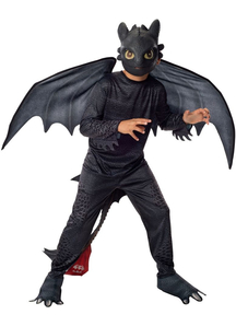 How To Train Dragon Night Child Costume