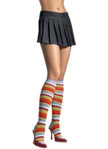 Knee Highs Rainbow Adult