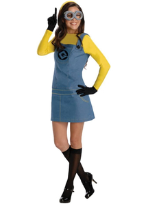 Lady Minion Despicable Me Adult Costume
