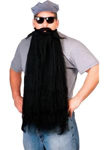 Mohair 25 Inches Black Beard