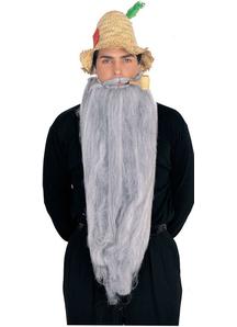 Mohair 25 Inches Grey Beard