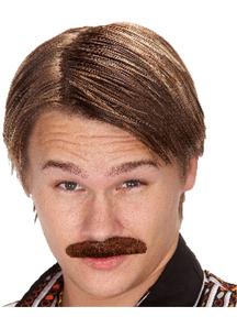 Mustache 70S Dude Brown