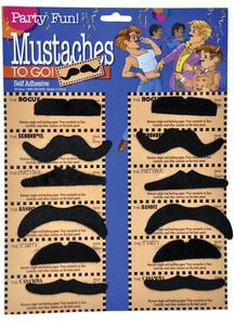 Mustache Card Of 12 Eq 1