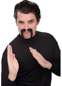 Mustache Goatee China Man