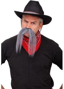 Mustache The Western Grey