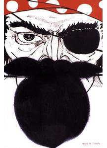 Nautical Beard Black