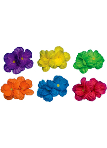 Neon Hair Clips Assorted