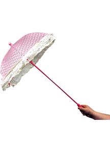 Parasol Lace Ruffle Pink