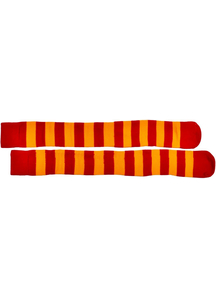 Socks Clown Red Yellow