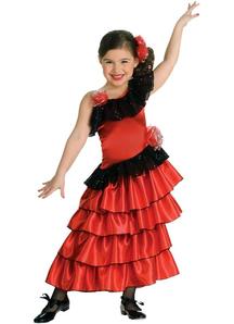 Spanish Girl Child Costume