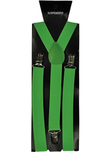 Suspender Neon Green