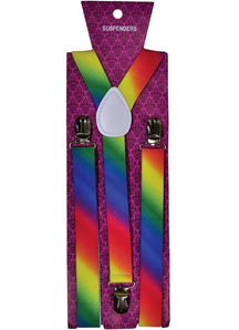 Suspender Rainbow Fade