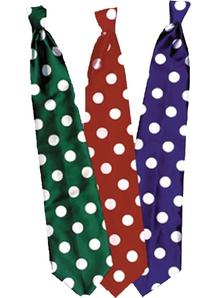 Tie Long Clown Blue