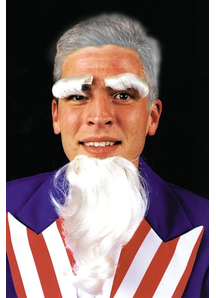 Uncle Sam Goatee Eyebrows