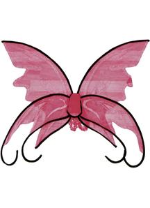 Wings Butterfly Pink W/Blk Trm