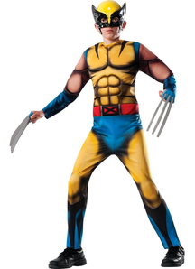 Wolverine Halloween Child Costume