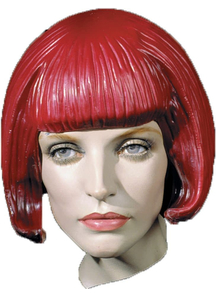 Beebop Rubber Wig Red