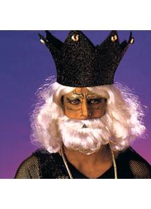 Biblical Beard And Peruke White