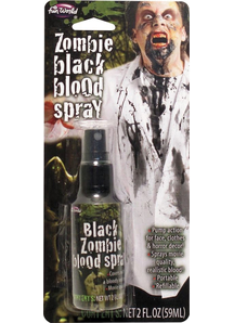 Black Zombie Blood Spray 2 Oz