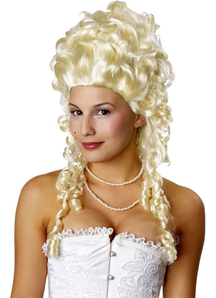Blonde Wig For Marie Antoinette Costume